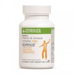 Formula 2 Complex de vitamine si minerale pentru Barbati