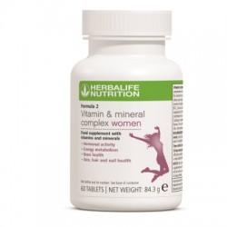 Formula 2 Complex de vitamine si minerale pentru Femei