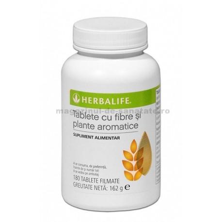 Tablete cu fibre si plante aromate